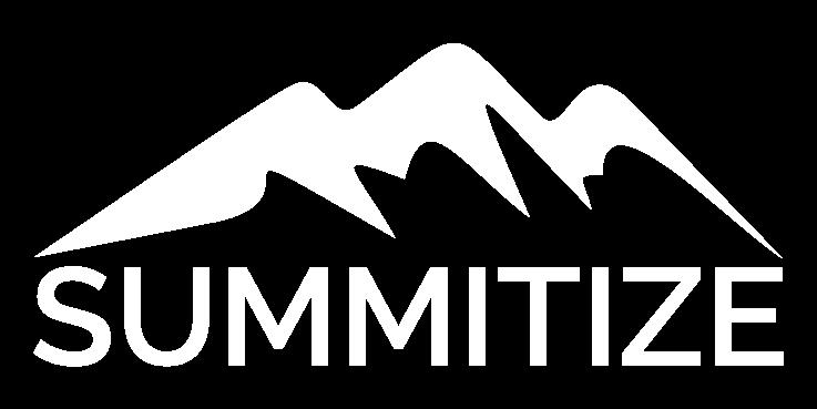 SUMMITIZE Logo, weiß